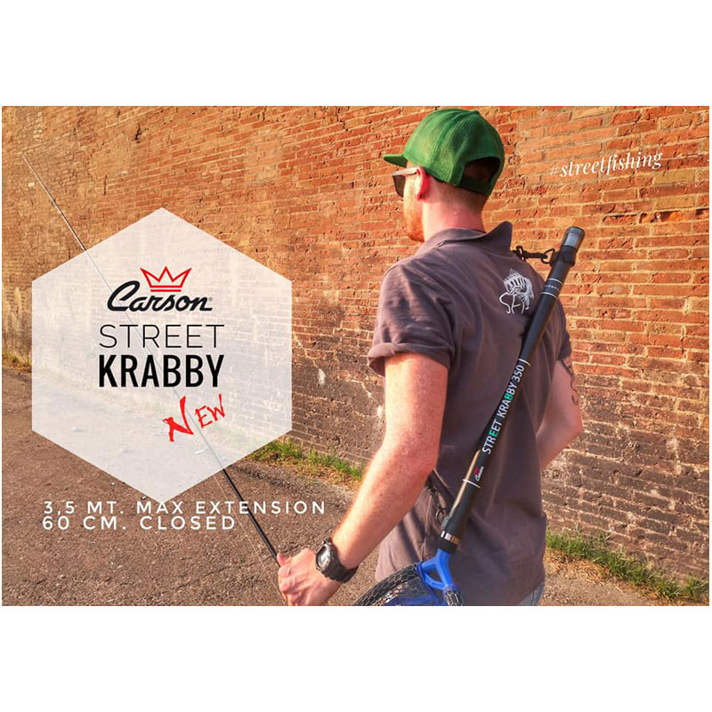 Carson Manico Guadino Telescopico Street Krabby 350-1