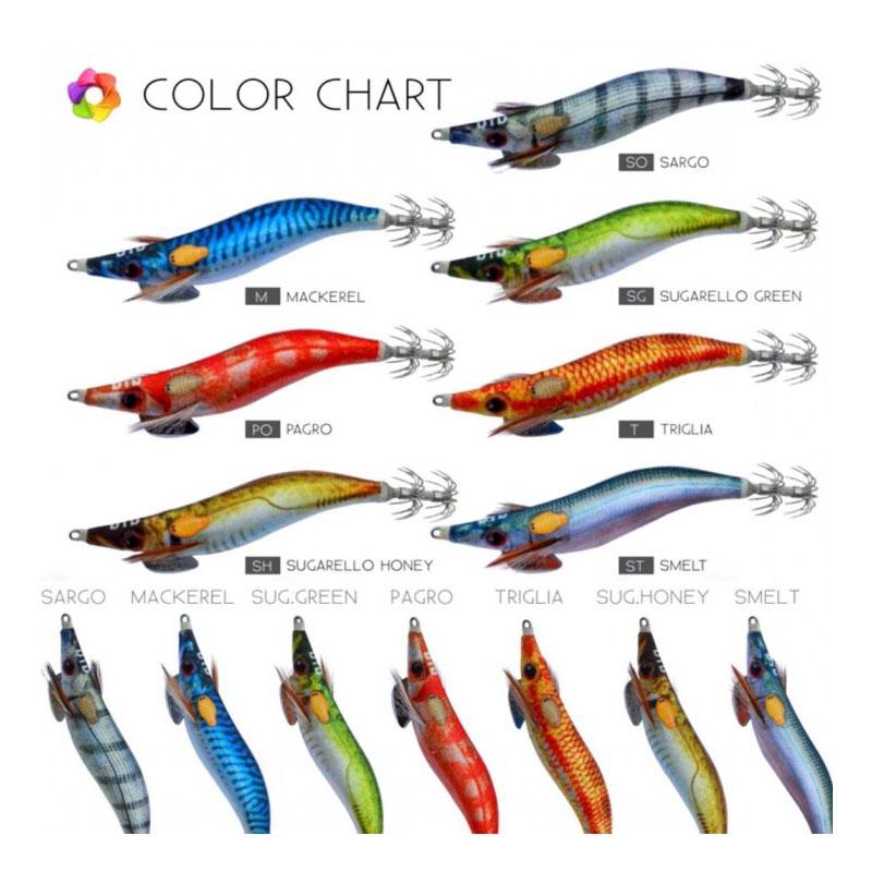 DTD Real Fish Oita EGI #3.0 Mackerel-1