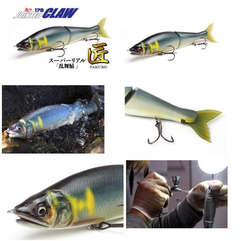 Gan Craft Jointed Claw 178 F Super Real Takumi Limited Rambu Ayu-1