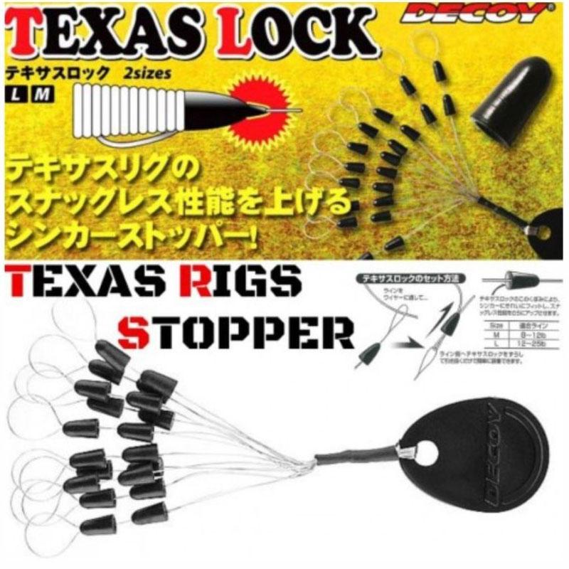 Decoy Stopper Texas Lock - misura M-1