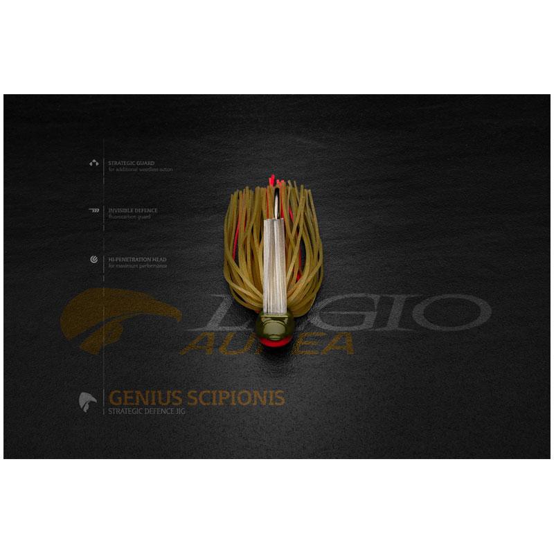 Legio Aurea Genius Scipionis Jig 3/8 Oz Caerulus-1