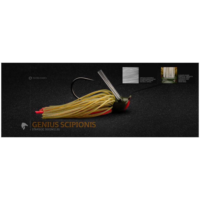 Legio Aurea Genius Scipionis Jig 3/8 Oz Caerulus-2