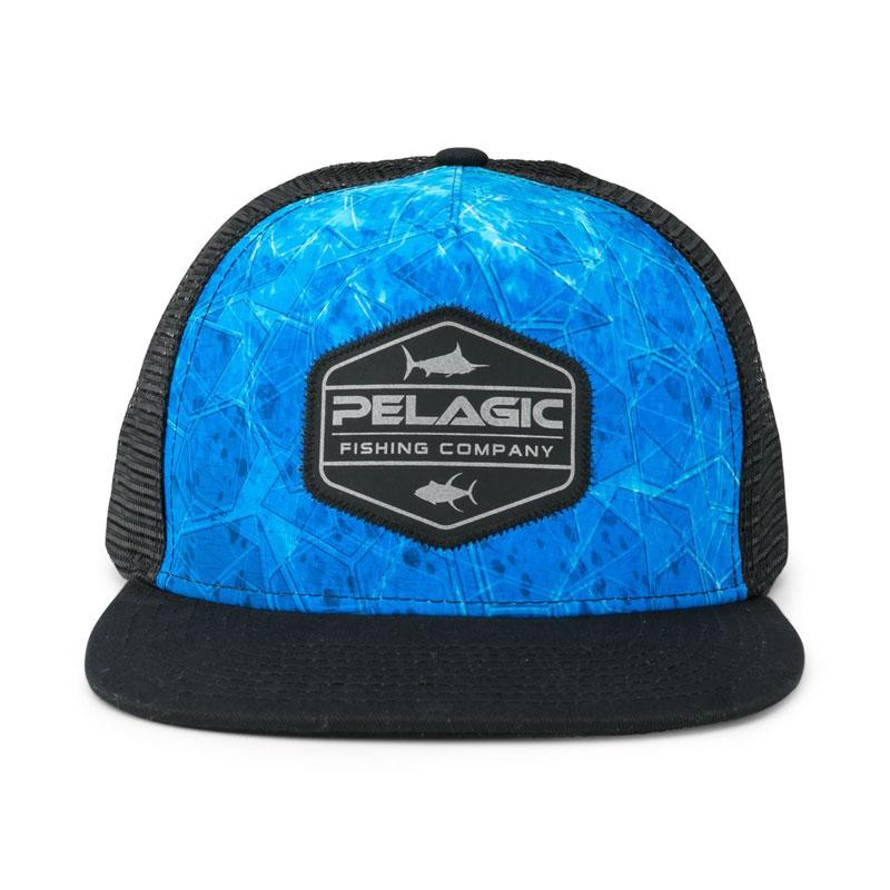 Pelagic Alpha Dorado Hex Snapback Blu-1