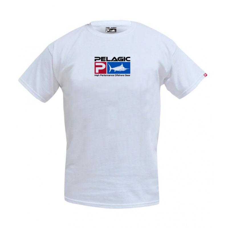 Pelagic Deluxe Logo Tee White Size L-1