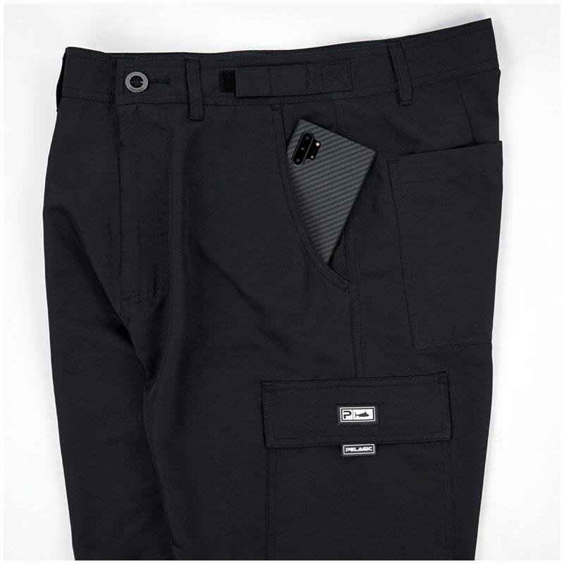 Pelagic Socorro Walkshorts Black Size 30-3