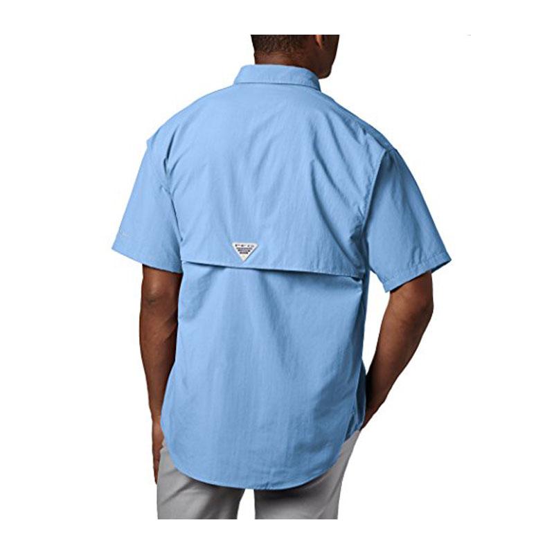 Columbia Camicia Pfg Maniche Corte Bahama II - Colore Sail - Taglia L-1
