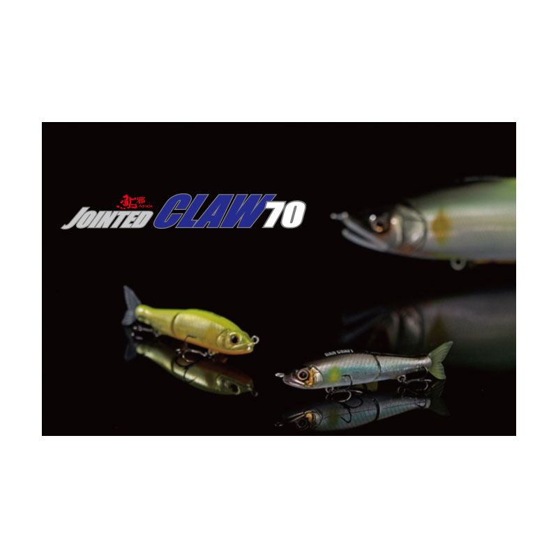 Gan Craft Jointed Claw 70 F #12 Yamame-1
