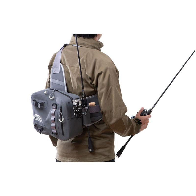 Abu Garcia One Shoulder Bag Water Proof Col. Charcoal-1