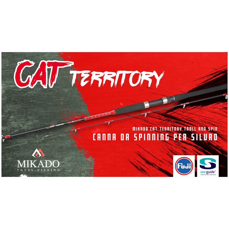 Mikado Cat Territory Troll & Spin Rod 2 pcs-1