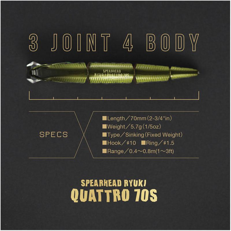 Duo Spearhead Ryuki Quattro 70 S RP Loach-1
