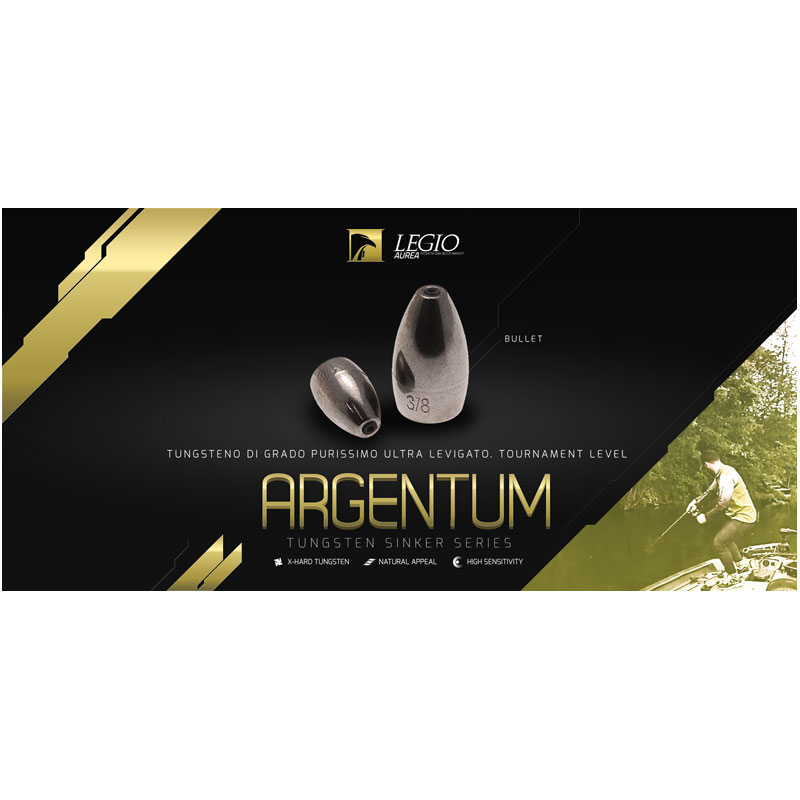 Legio Aurea Argentum Tungsten Bullet 1/8 Oz (3,5 g.)-1