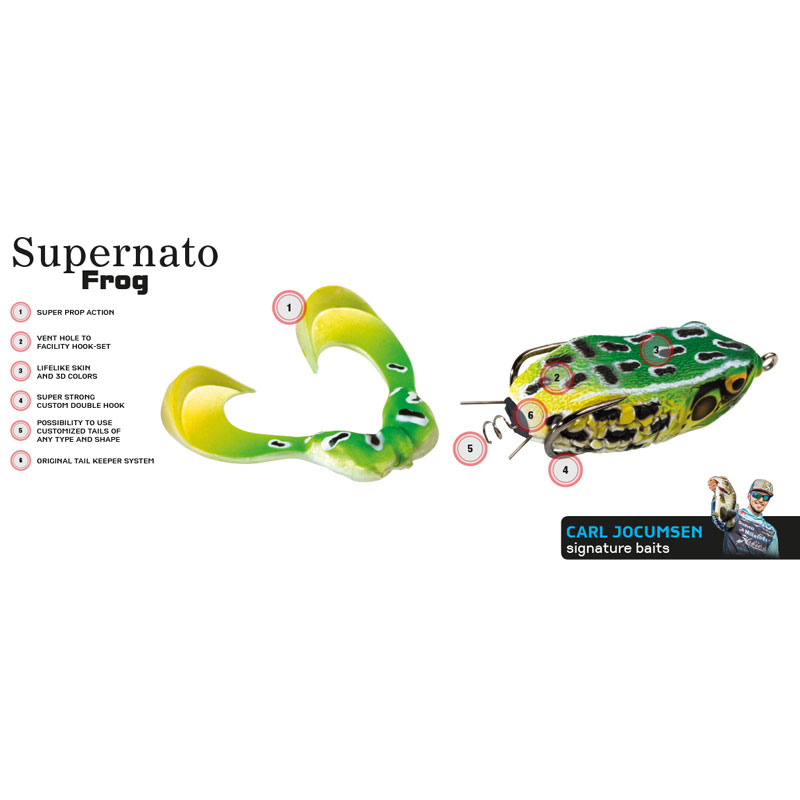 Molix Supernato Frog Spare Legs - Python-1