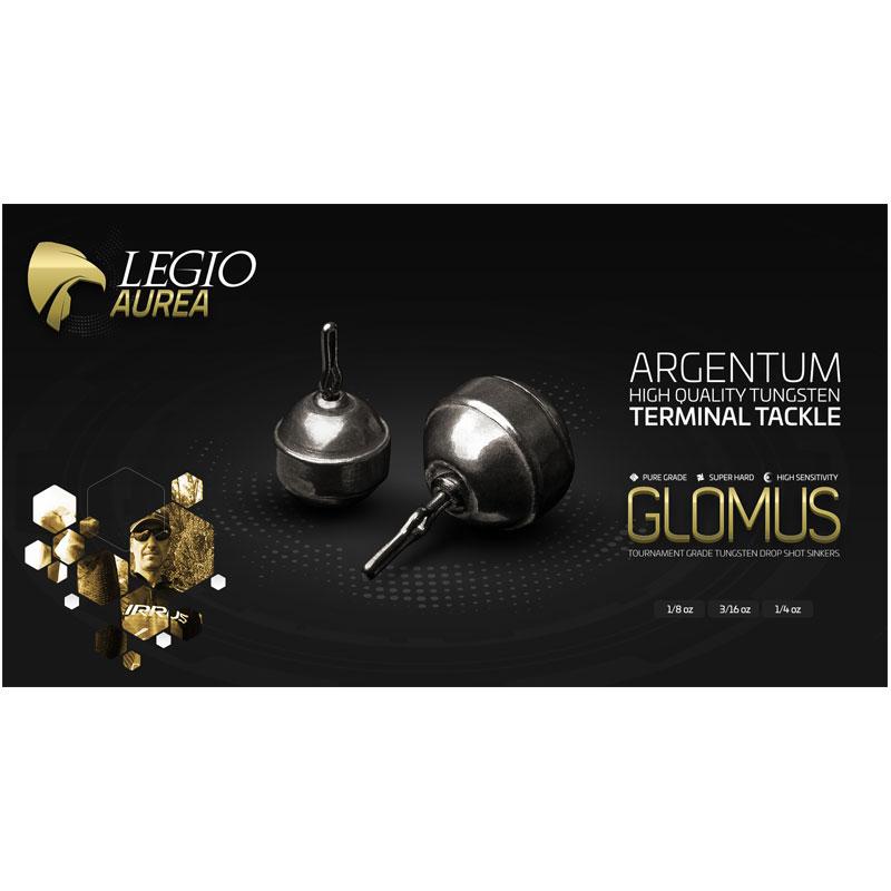 Legio Aurea Argentum Glomus 1/8 Oz Tungsten Drop Shot Sinker-1