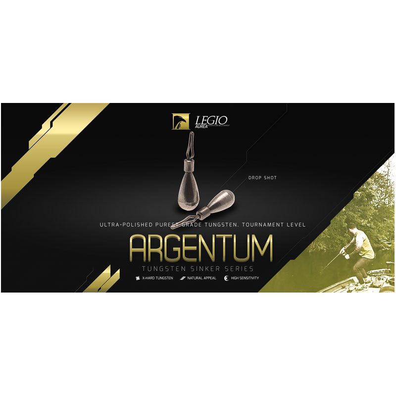 Legio Aurea Argentum Drop Shot Sinkers 1/16 Oz-1