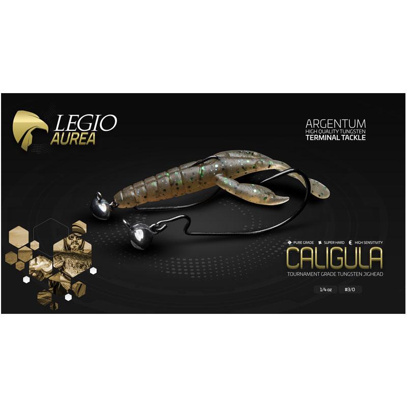 Legio Aurea Argentum Caligula Tungsten Jighead 3/8 Oz Hook #3/0 -1