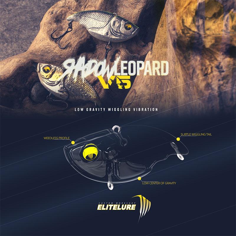 Elite Lure V5 Shadow Leopard Black Chart-1
