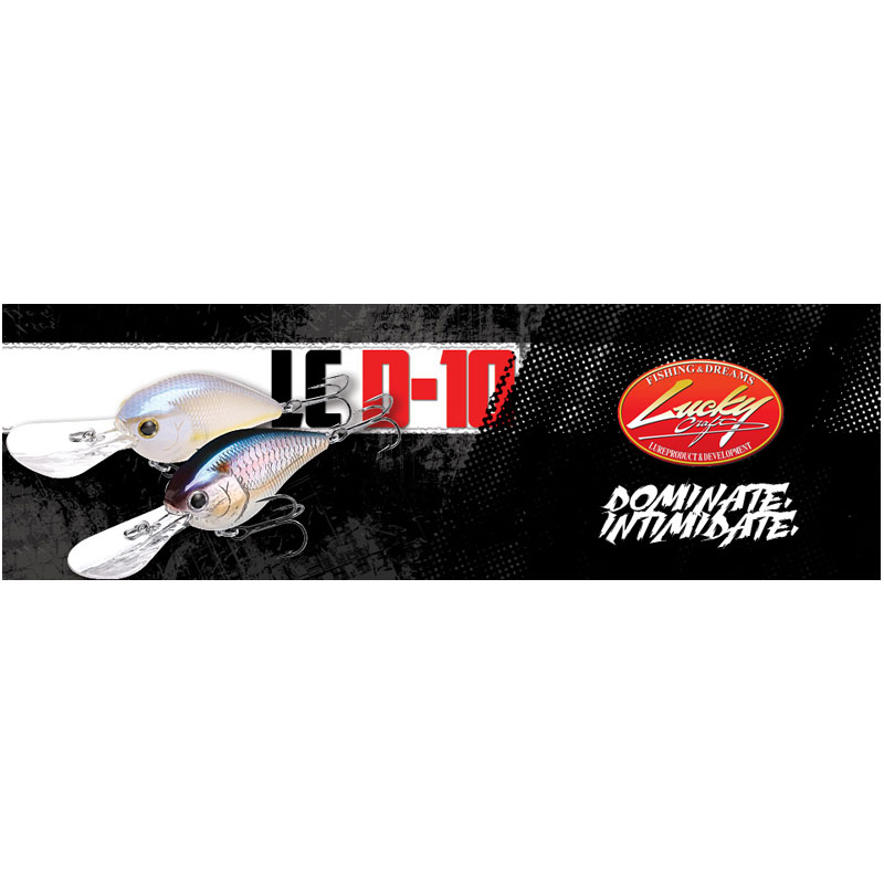 Lucky Craft LC 2.0 D-10 Chartreuse Shad-1