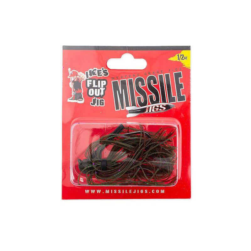 Missile Baits Ike's Flip Out Jig 3/4 Oz California Love-1