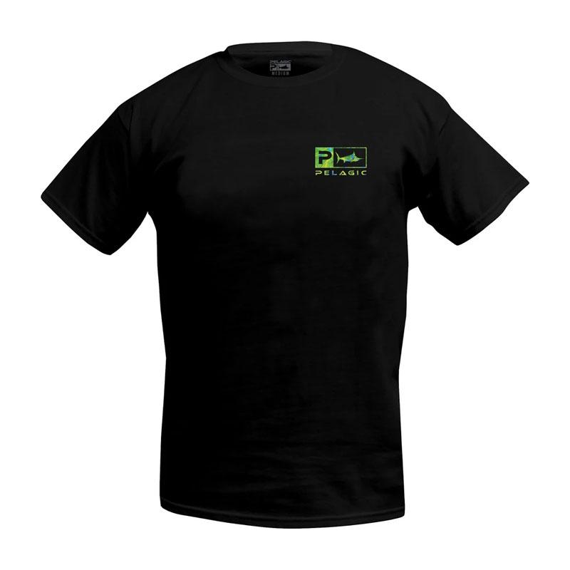 Pelagic Deluxe Dorado Green Classic T-Shirt Size M-1