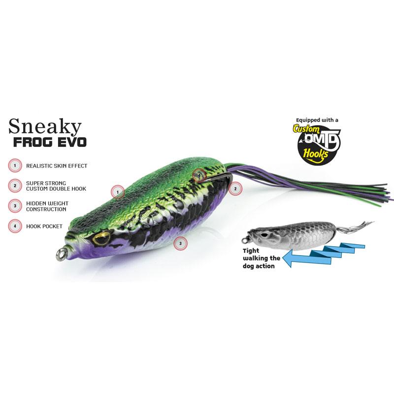 Molix Sneaky Frog EVO 90 Bone-1