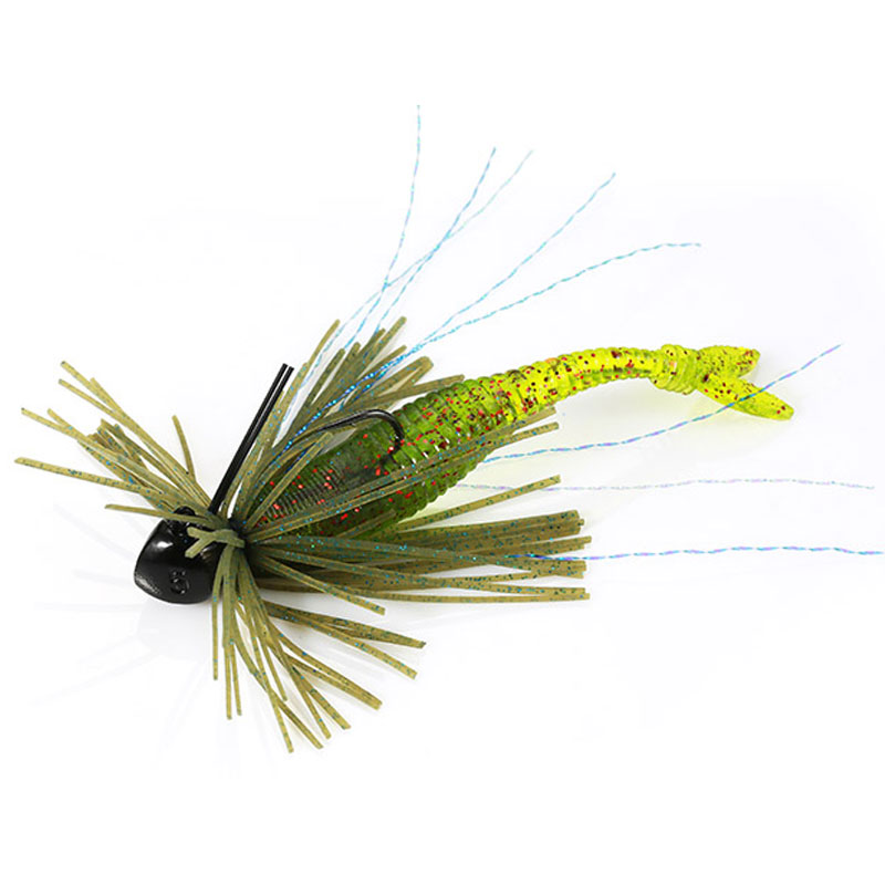 DUO Realis Small Rubber Jig 1,8 gr. Pink Shrimp-1