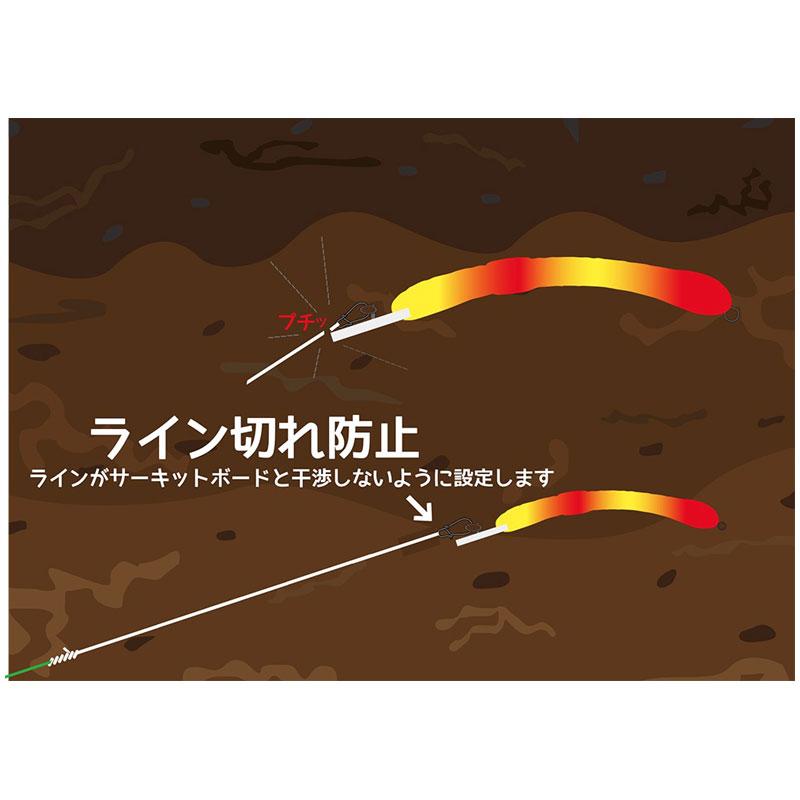 Alfred Mimizu Red Tiger Worm #02-1