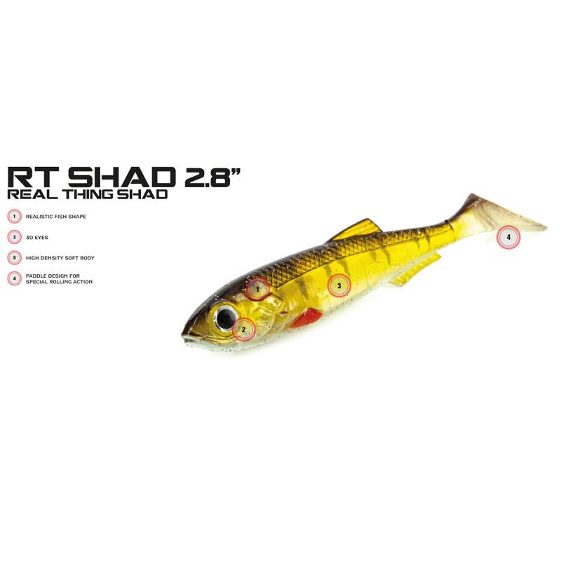 Molix RT Shad 2,8 Mixed Pack #1-1