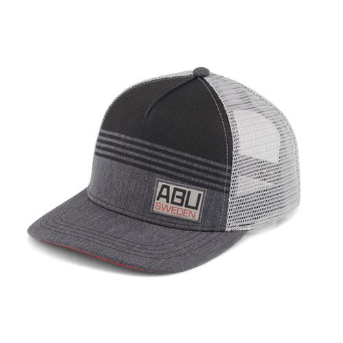 Abu Garcia 100 Years Truker Hat Gray Black Light Gray