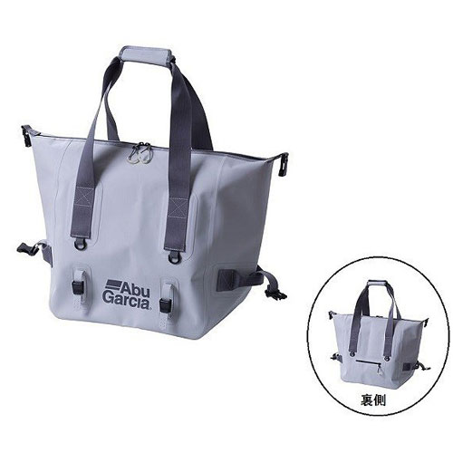 Abu Garcia 2Way Duffle Tote Bag Water Proof White