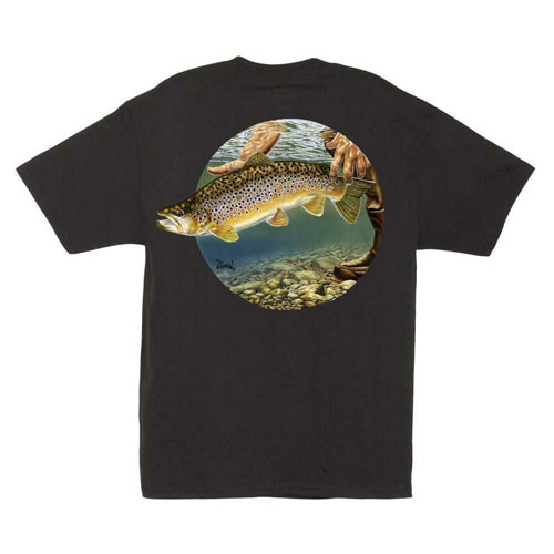 Al Agnew Catch and Release T-Shirt Size L