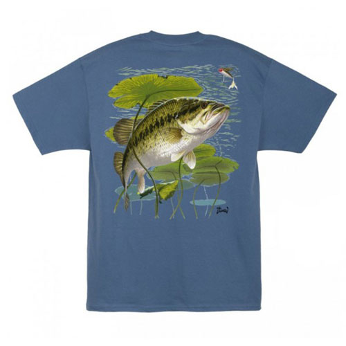 Al Agnew Popper Bass T-Shirt Size L