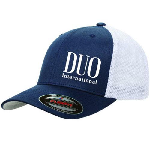 Cappello DUO Flexfit Cap Navy/White