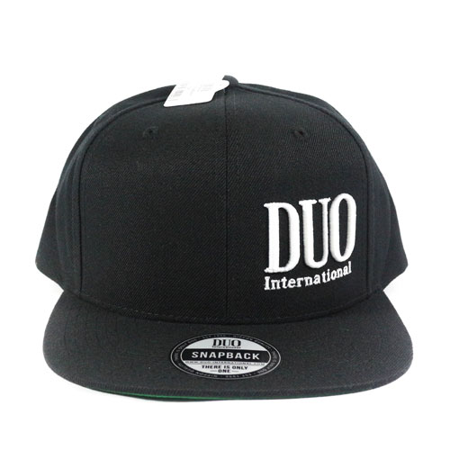 Cappello DUO Snapback Black