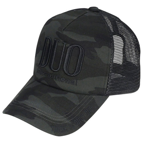 Cappello DUO Trucker Mesh Cap Black Camo
