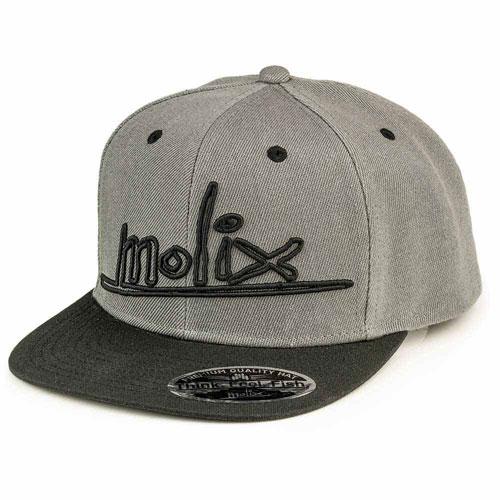 Cappello Molix Premium Snapback Grey