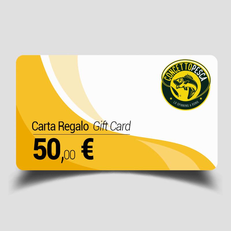 Carta regalo da 50 euro