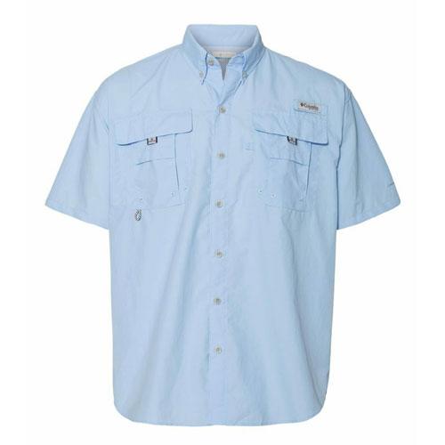 Columbia Camicia Pfg Maniche Corte Bahama II - Colore Sail - Taglia L