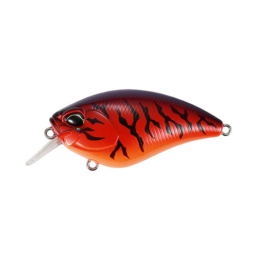 DUO Realis Apex Crank 66 Squared Bill Red Tiger