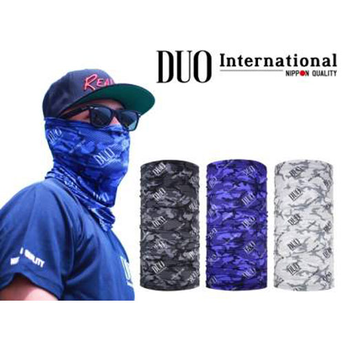DUO UV Headwear Blue Camo
