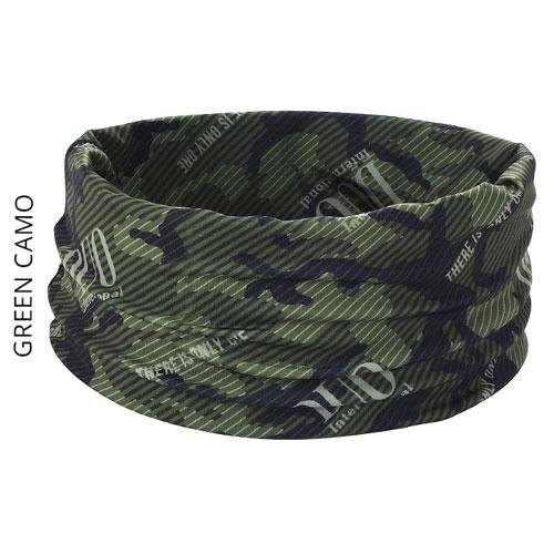DUO UV Headwear Green Camo