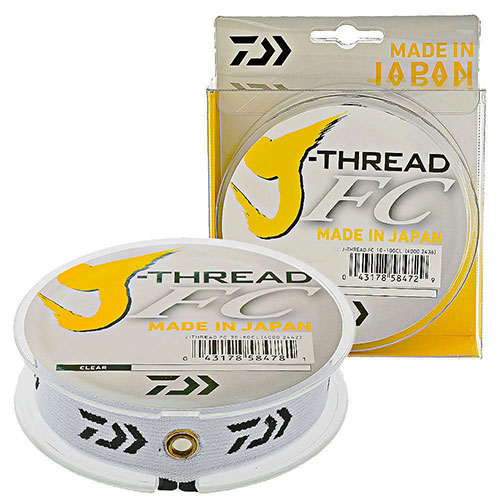 Daiwa J-Thread FC 12 lb  - 0,298 mm