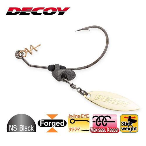 Decoy Maki Sasu Blade Gold Worm 230G #2/0