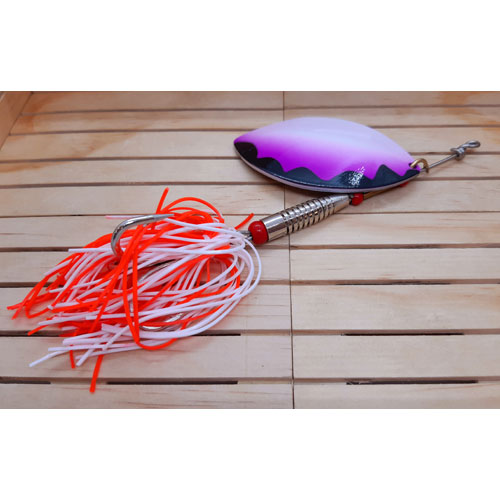 Evia Xcat cat Fish Collection X-Blade Plus 50 g. Purple White