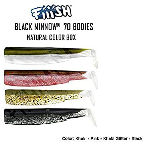 Fiiish Black Minnow 70 n 1 Corps Color Box Natural