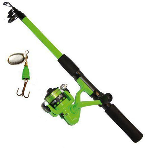 Fladen My Deadly Fishing Combo Green