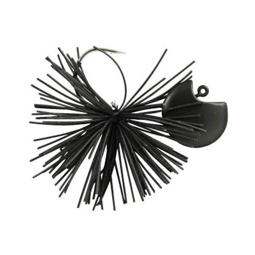 Gamakatsu rubber Jig Waky Head Black