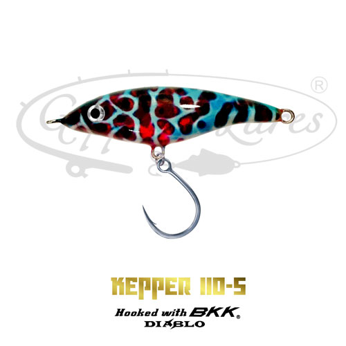 Geppetto Lures Kepper 110-S Spectral Reverse