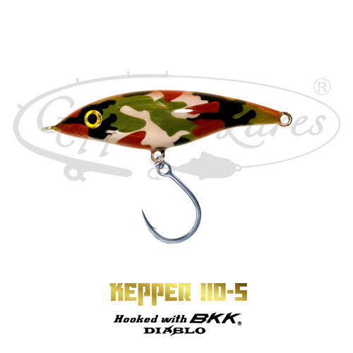 Geppetto Lures Kepper 110-S Stickbait Soldier