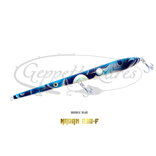 Geppetto Lures Narak 230-F Bubble Blue