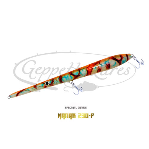 Geppetto Lures Narak 230-F Spectral Orange